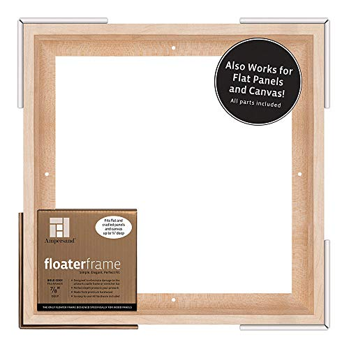 Ampersand Floaterframe for Wood Panels, 7/8 Inch