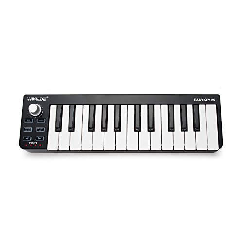 Worlde EASYKEY.25 USB MIDI Keyboard Controller 25-Key by Worlde