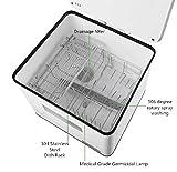16.53x14.96x18.11inch Countertop Dishwasher 110V-Us