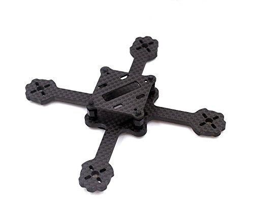 Usmile 112mm 4mm X type Micro Carbon Fiber Quadcopter Frame miniquad for Blade inductrix Tiny Whoop Kingkong 90gt - Frames Goggles Types Of