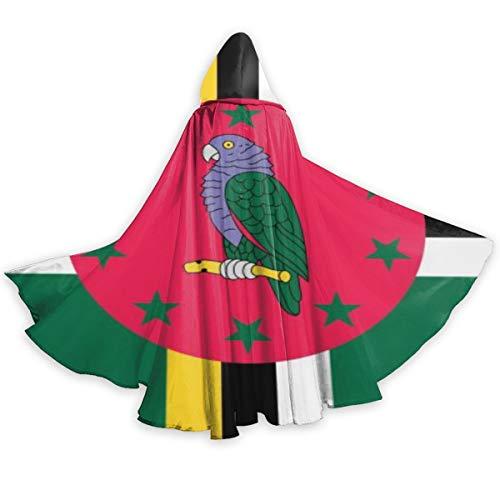 Dominica Flag Unisex Cosplay Costume Halloween Christmas
