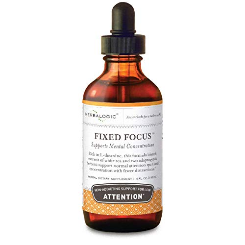 Fixed Focus Mental Attention Drops, 4 Fluid Ounce