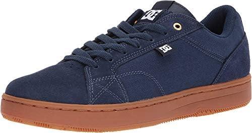 DC Men's Astor Skate Shoe, Navy/Gum, 6