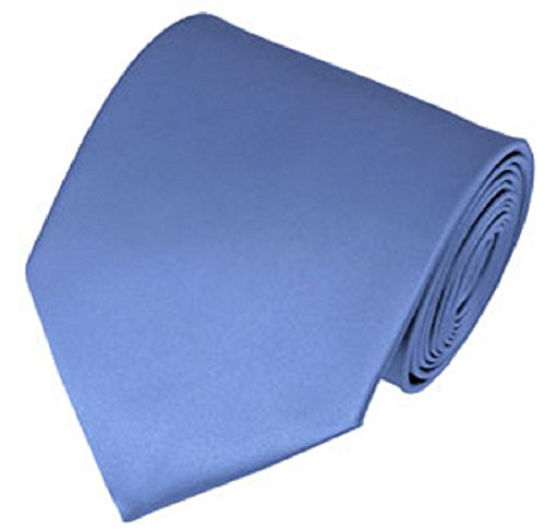 steel blue ties for men - 7