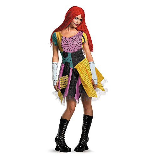 Disguise Women's Sassy Sally,Multi,S (4-6) Costume (Nightmare Costumes)