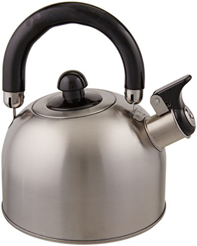 Copco Halo 1.2-Quart Brushed Stainless Steel Teakettle