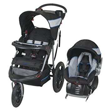 Baby Trend Jogger Travel System ATLANTIS Includes Stroller Car Seat Base