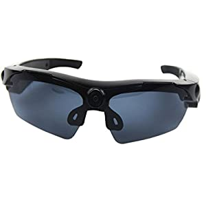 JOYCAM Polarized Sunglasses Camera UV400 Glasses DVR Eyewear Video Recording with 75 Degree View Angle