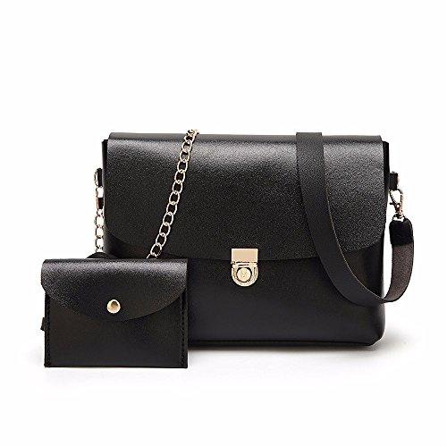 13258e118670 Ya Jin Classic Crossbody Shoulder Bag + Purse for Women With Metal Chain  Strap