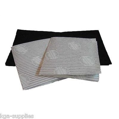 Kga-Supplies Cooker Hood Filters Kit for Neff Extractor Fan Vent Grease Carbon Filter