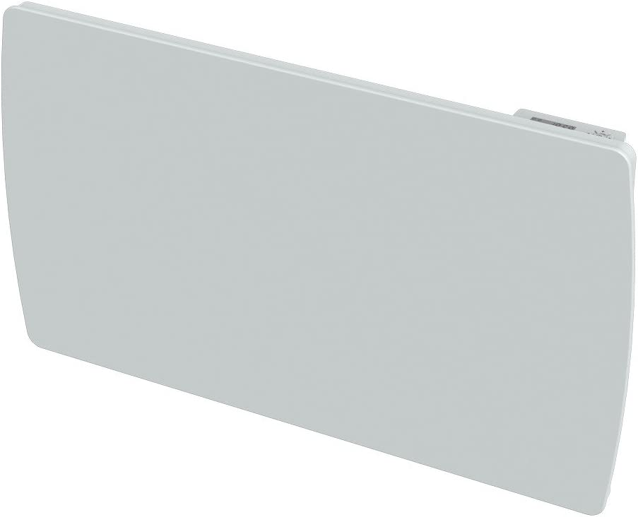 Cayenne 49606- Radiador por inercia cerámica, cristal LCD, 1500W, color blanco