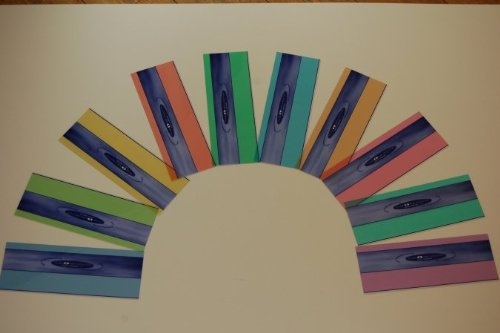Crossbow Education CBR101 Eye Level Reading Rulers- 10 pack 1 of each color from Crossbow Education