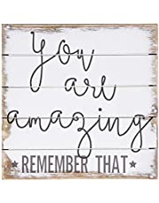 Sincere Surroundings PET1022 You are Amazing 6 x 6 White
