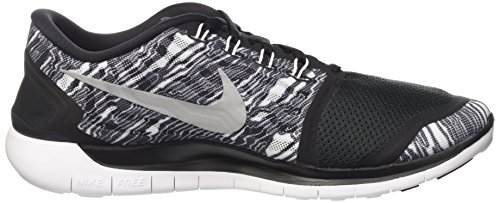 Nike Heren Gratis 5.0 Loopschoen Zwart / Wit / Wit