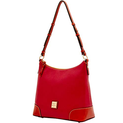 Hobo Bourke Shoulder Pebble amp; Bag Red Dooney fqn5tcB5