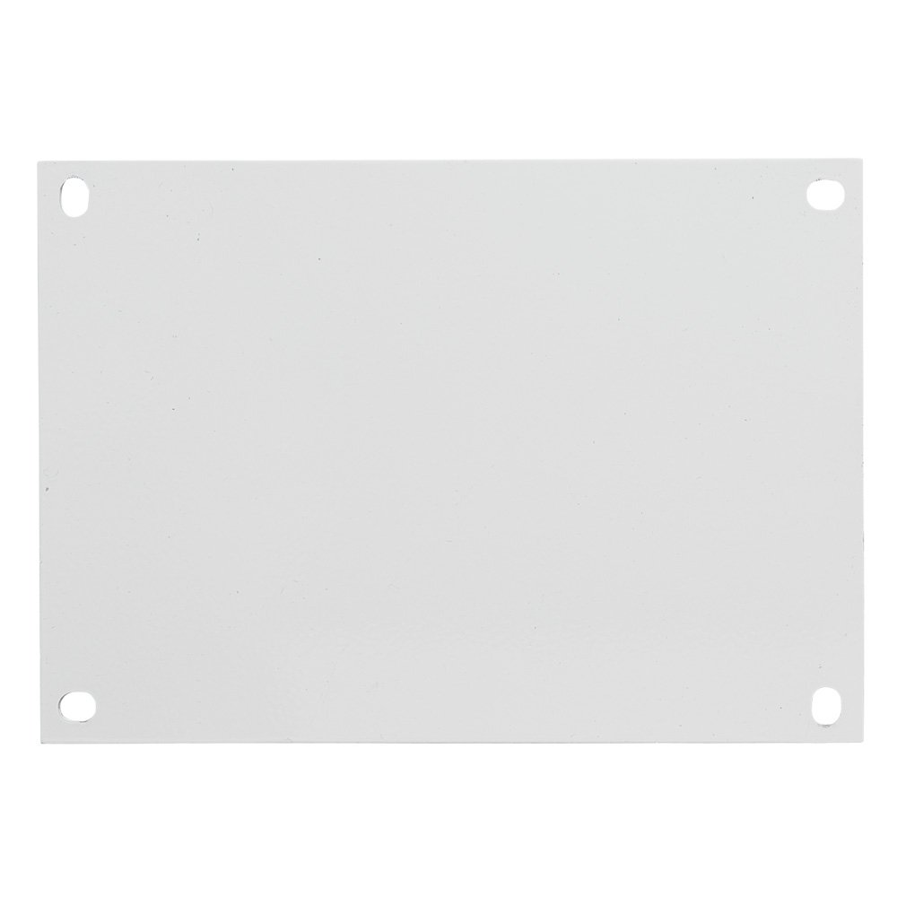 Integra SBP1412 Steel Panel, For Use With 14'' x 12'' Enclosure, 12.75'' Height, 10.88'' Width