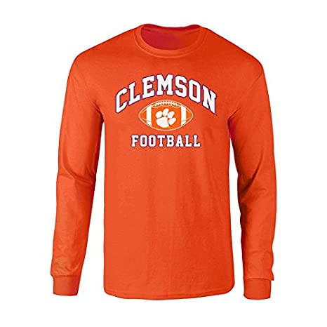 7183c78fadd Amazon.com   Elite Fan Shop Clemson Tigers Long Sleeve Tshirt Power ...