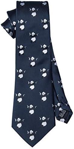 Barry.Wang - Juego de corbatas de seda para hombre Azul Azul Y ...