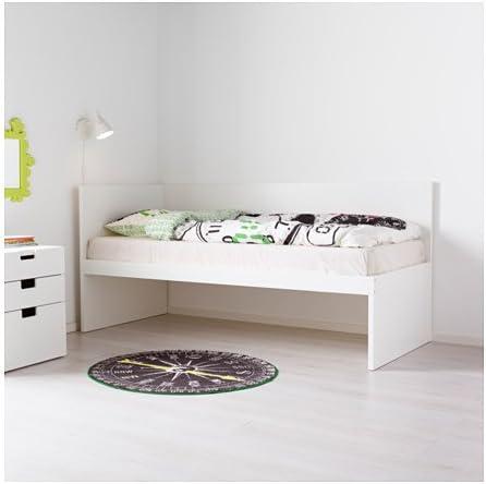 Ikea 30382.11514.1414 - Somier de Cama Doble con cabecero y ...