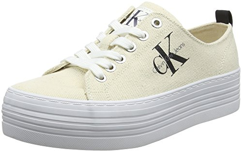 Jeans Canvas Femme Zolah Sneakers Klein Calvin Heavy Basses Zazc45wR0