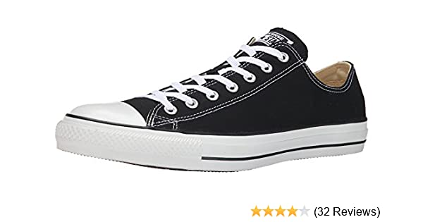 Amazon.com  Converse Unisex Chuck Taylor All Star Ox Low Top Black Sneakers  - UK 7.5   US Mens 7.5   US Women 9.5   EU 40.5  Shoes b0bdac0c3ee