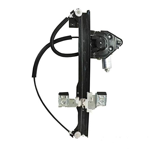 - SHOWSEN 741-893 Rear Passenger Power Window Regulator W/Motor Fit Buick Trailblazer Envoy Isuzu Olds Saab