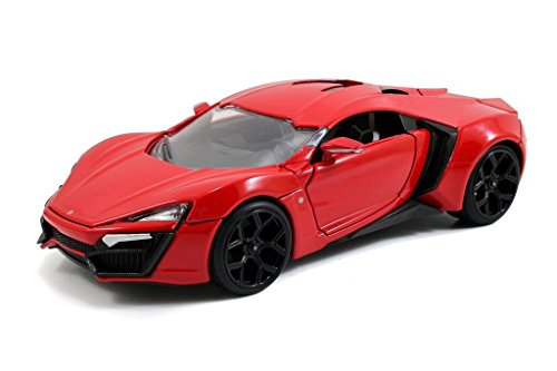Jada Toys Fast & Furious Lykan Hypersport Diecast Vehicle, 1: 24 Scale - Scale Toy Diecast