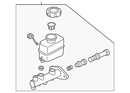Kia 58510-3F300 Brake Master Cylinder