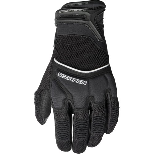 Scorpion Coolhand II Women's Leather/Textile Vented Sports Bike Motorcycle Gloves - Black/Large