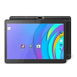 YUNTAB K98 Tablet de 9.6 pulgadas ( 3G, Auard-core,Android 5.1 Lollipop - dual cámara - Navegación GPS - Google Play - 1GB de RAM - 16GB - Batería de 5000 mha - Bluetooth 4.0 nuevo modelo) (negro)