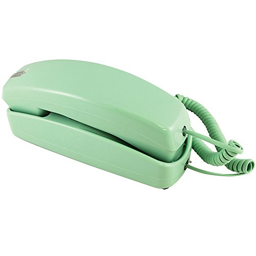 Trimline Corded Telephone - Design From 60s With Modern Electronics - Lime Green (Corded Telephone Green)