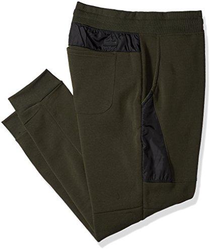 Southpole Men's BT Fleece Jogger Pants With Nylon Block Detail Sweatpants,...