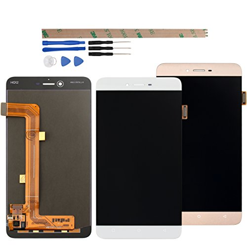 For BLU Vivo 5 V0050UU LCD Digitizer Replacement HYYT New LCD display + Touch Screen Digitizer Full of assembly (white) by HYYT (Image #2)