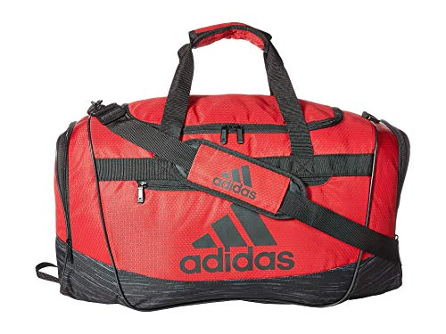 adidas Defender III Medium Duffel Noble Maroon/Black/Black Looper One Size