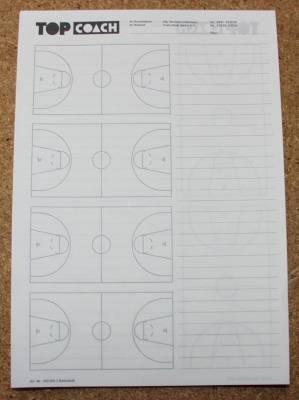 6 piezas. Entrenador superior baloncesto - retemblado Libreta A4 ...