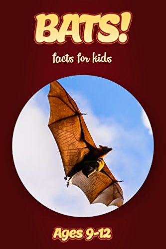 Bat Facts For Kids Ages 9-12: Amazing Animal Facts With Large Size Pictures: Clouducated Red Series Nonfiction For Kids