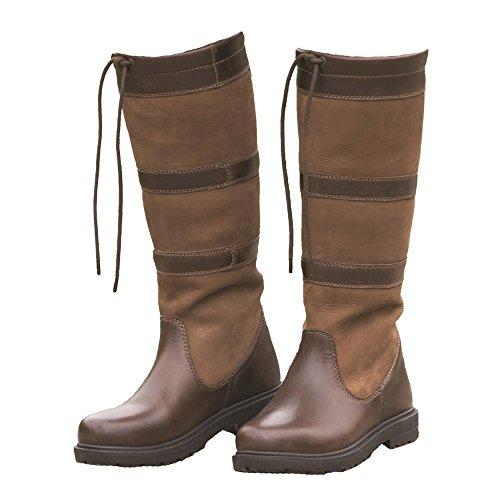 Shires Moretta Teo largo botas, marrón marrón