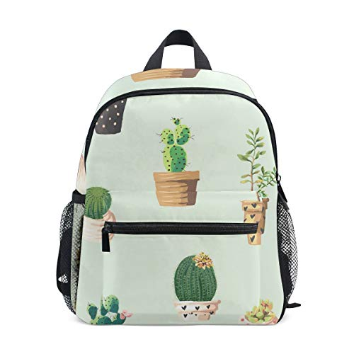 Dragon Sword Cute Potted Plant Small Preschool Backpacks,Lightweight school bag for 3-8 Age kids ()