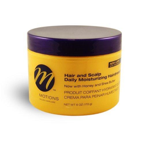Hairdressing Pomade - Motions Hair & Scalp Daily Moisturizing Hairdressing 6 oz. (Pack of 2)