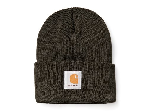 Men Cha18darkgreen Carhartt Winter Beanie Ski Beanie Green Cap Acrylic 7qa4a1