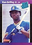 1989 Donruss Baseball #33 Ken Griffey Jr Rookie Card