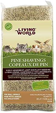 Living World Pine Shavings, 1200-Cubic-Inch