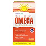 Renew Life Super Critical Norwegian Gold, Fish Oil and Omega 3's, 60 Count