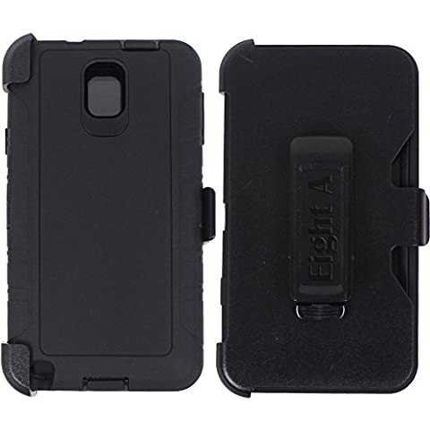Galaxy Note 3 Case,Heavy Duty Defender Impact Rugged with Built-in Screen Protector Camouflage Case Cover for Samsung Galaxy Note 3 (Galaxy Note 3 Phone Case Black)