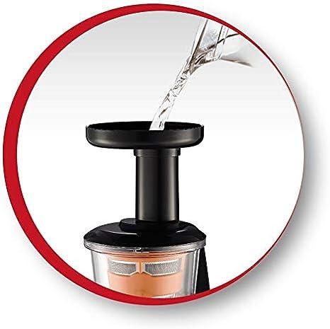 Moulinex Infiny Juice ZU255B - Licuadora, tecnología de prensado ...