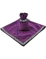IPOTCH Altar Tarot Tafelkleed en koord Pouch Set, 5 kleuren om te selecteren