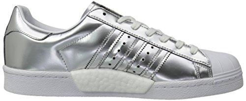 adidas Women's Superstar Foundation Casual Sneaker Silvmt,silvmt,ftwwht