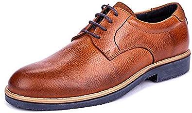 DCalderoni Veleta Marrón Zapatos De Vestir con Cordones para Hombre 46 EU