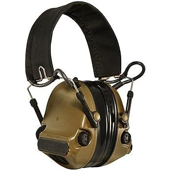 Peltor ComTac III Hearing Protection Headset, Brown