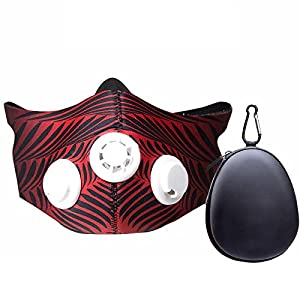 bangyao Training Mask 2.0 Fitness Mask | Workout Mask | Max Breathing Resistance Levels – Fitness Mask | Training in…
